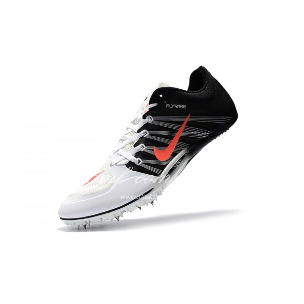 nike sprint spikes shoes Men Black/White