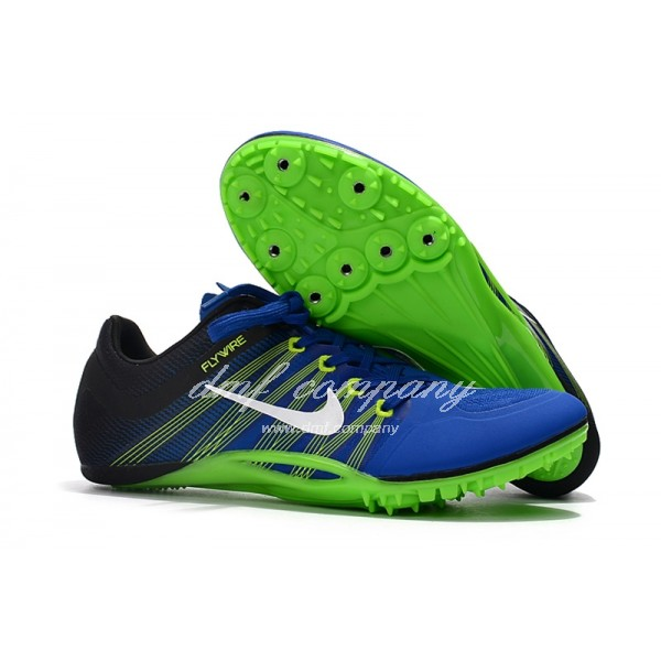 nike sprint spikes shoes Men Blue/Green