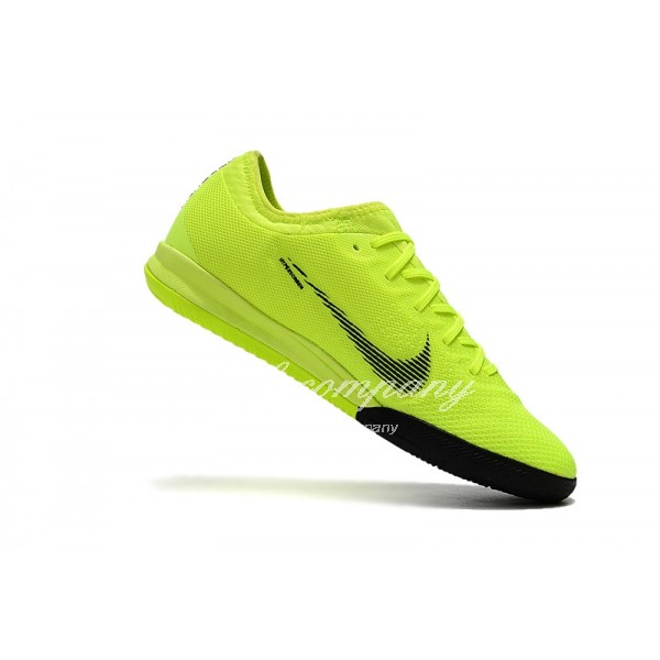 Nike Mercurial VaporX VII Pro IC Men Fluorescent Yellow/Black waterproof