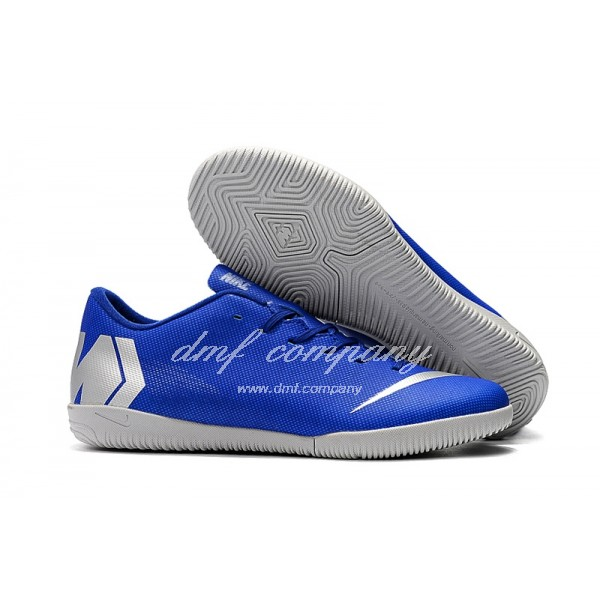 NIKE VAPORX 12CLUB Men/Women Blue/Silver TF