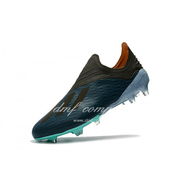 adidas X 18+ FG Men Black/Blue