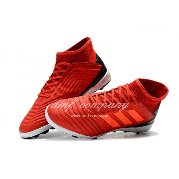 Adidas Men's Predator 19.3 TF Red And Black