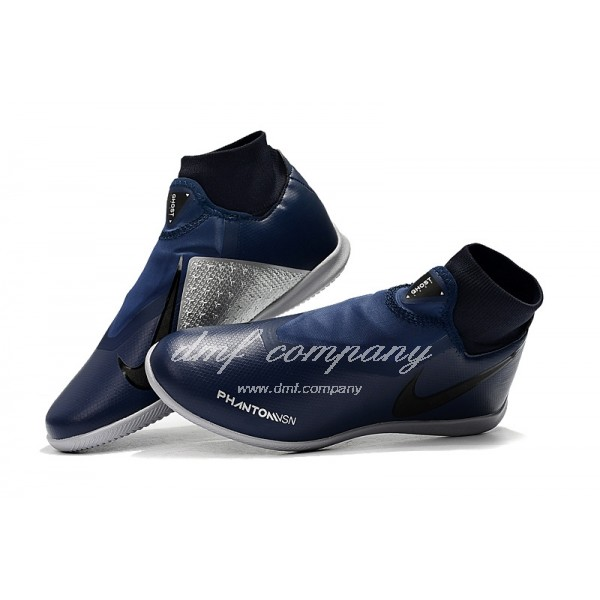 NIke Phantom Vison Academy DF TF Men Dark Blue/Silver