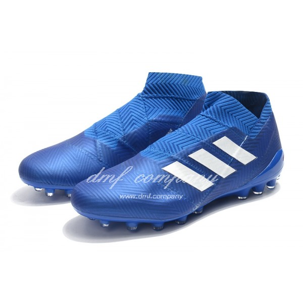 Adidas Men's Nemeziz 18+ AG Blue