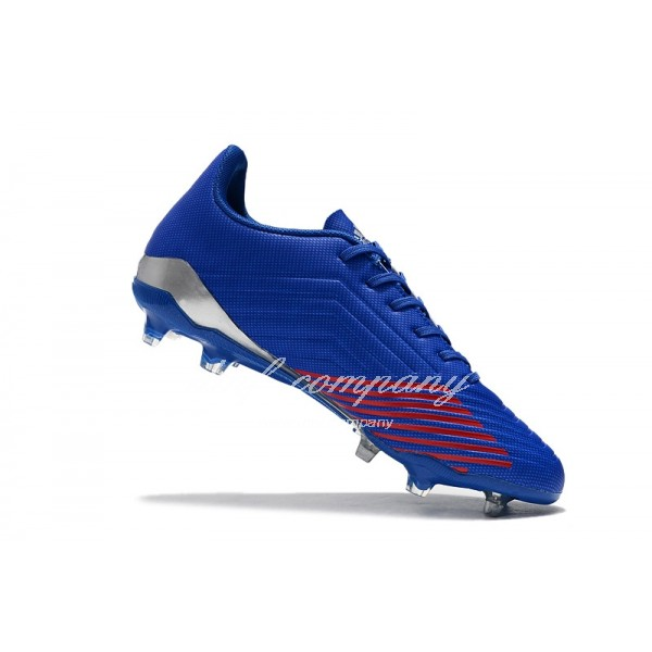 Adidas Men's Predator 19.4 FG Blue And  White