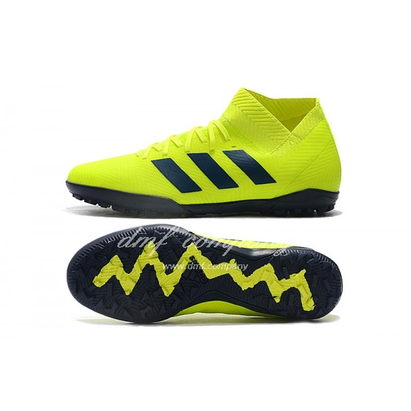 Adidas Nemeziz Tango 18.3 TF Men's Lemon Yellow And Black