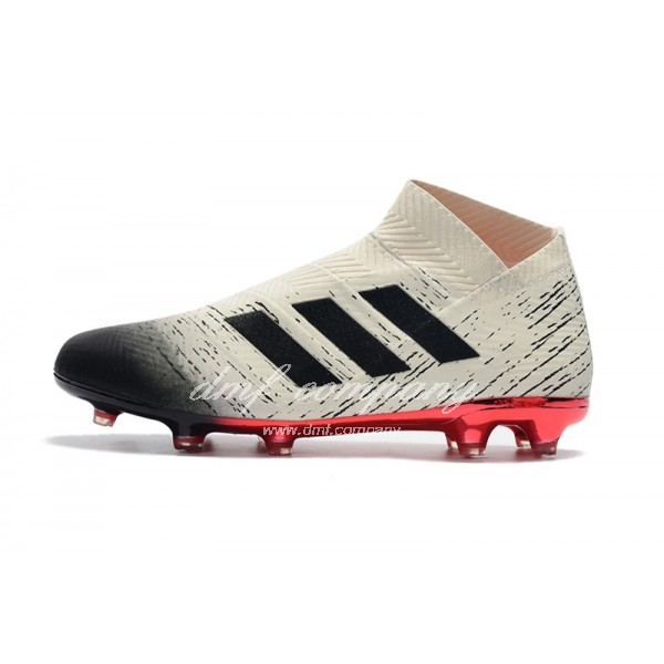 adidas Nemeziz 18+ FG Men White/Black