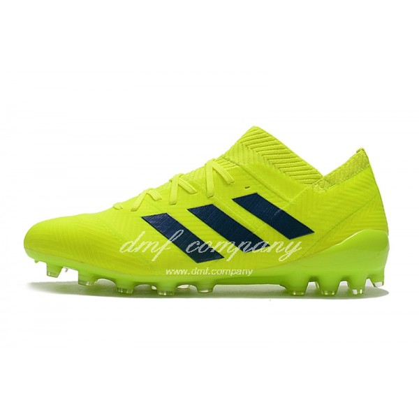 Adidas Men's Nemeziz Messi 18.1 AG Lemon Yellow