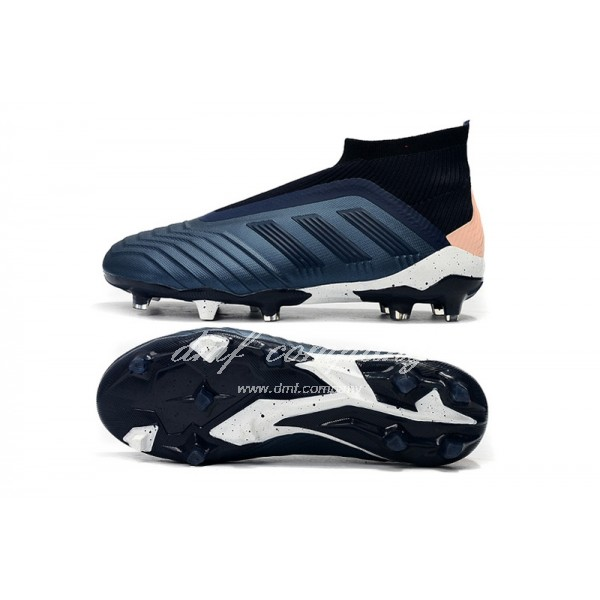 adidas Predator 18+ FG Men Dark Blue/Pink