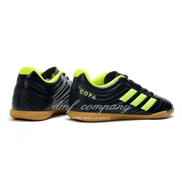 Adidas Men's Copa 19.4TF Black And  Green