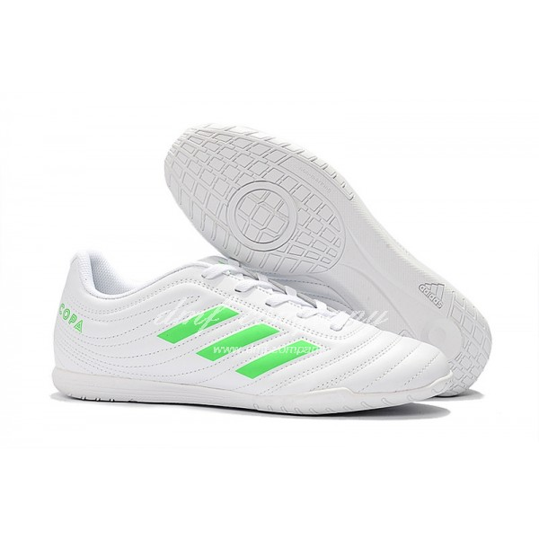 Adidas Men's Copa 19.4TF White And Green