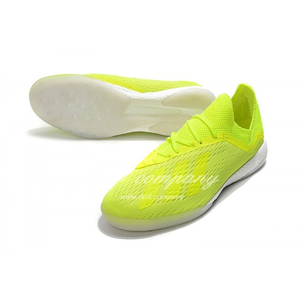 Adidas Men's X Tango 18.1 TR Fluorescent Green