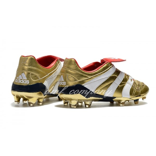 Adidas PREDATOR ACCELERATOR FG Men Gold/Red