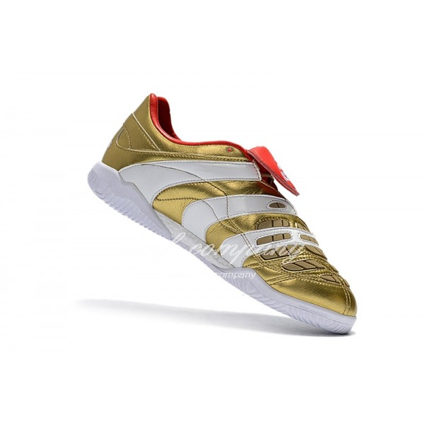 Adidas Men's Predator Accelerator TR Golden White And Red