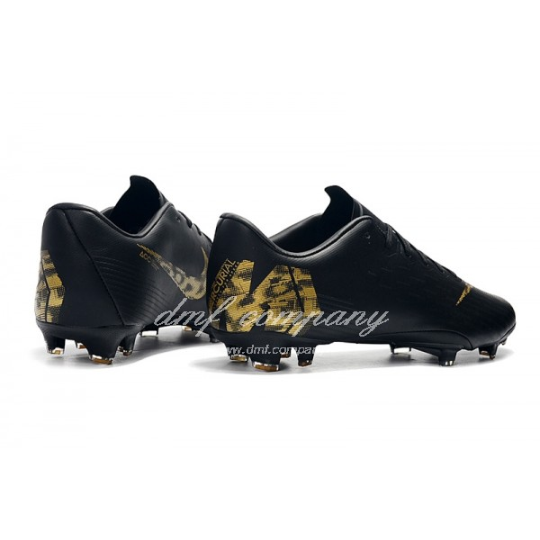 Nike Mercurial Vapor XII PRO Men/Women Black/Gold FG