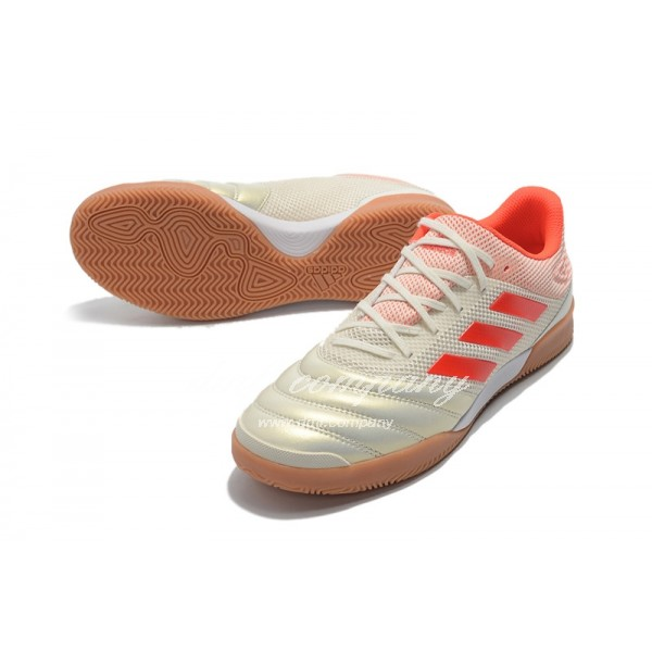 Adidas Copa 19.1 IN Men Creamy And Orange