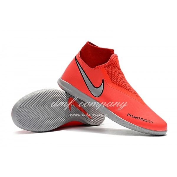 Nike Phantom Vison Academy DF IC Men Red Orange