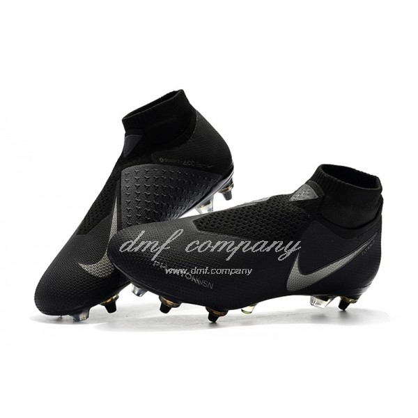 Nike Phantom VSN Elite DF SG-Pro Anti Clog Black And Silver Men