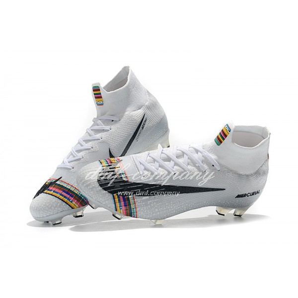 Nike Mercurial Superfly VI 36 LVL UP  Elite FG White And Chromatic Men And Women