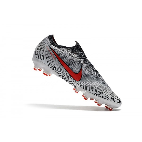 Nike Mercurial Vapor XII Elite Neymar AG White And Black Men