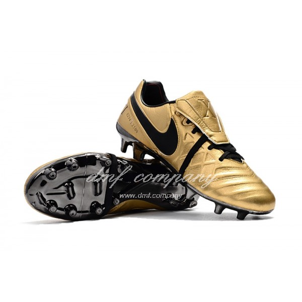 Nike Tiempo Totti X Roma Men Gold/Black