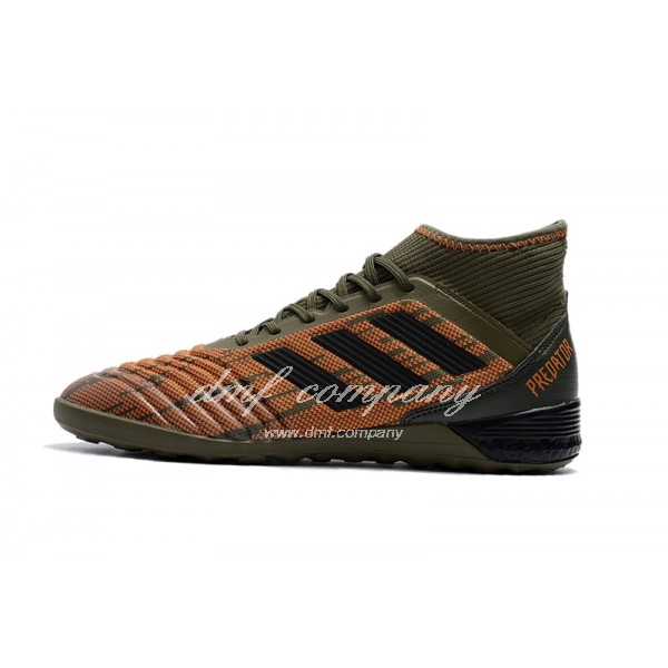 Adidas Predator Tango 18.3 IC Men's Army Green Orange And Black