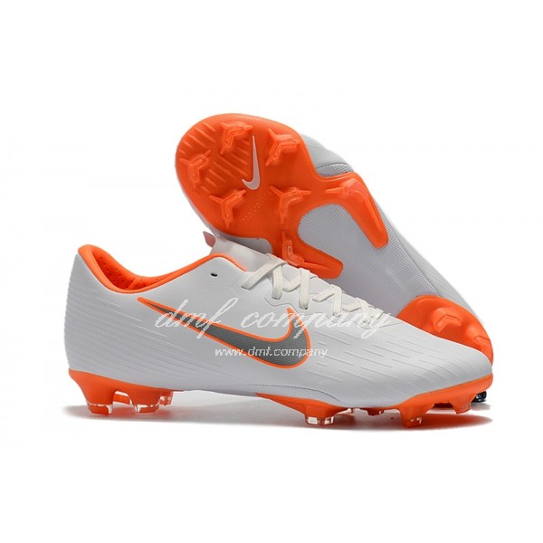 Nike Mercurial Vapor XII PRO Men/Women White/Orange FG