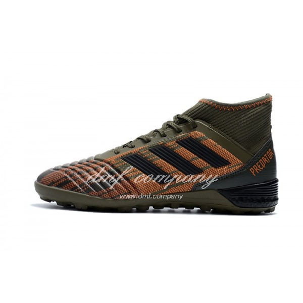 Adidas Predator Tango 18.3 TF Men's Brown Orange And Black