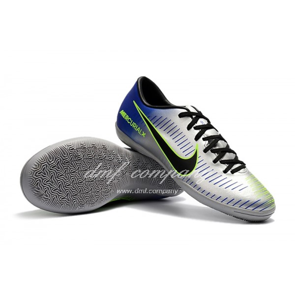 NIke Mercurical Victory VI Men Silver/Blue IC