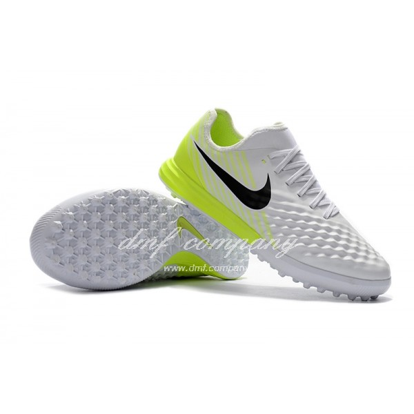 Nike MagistaX Finale II Men White/Green TF