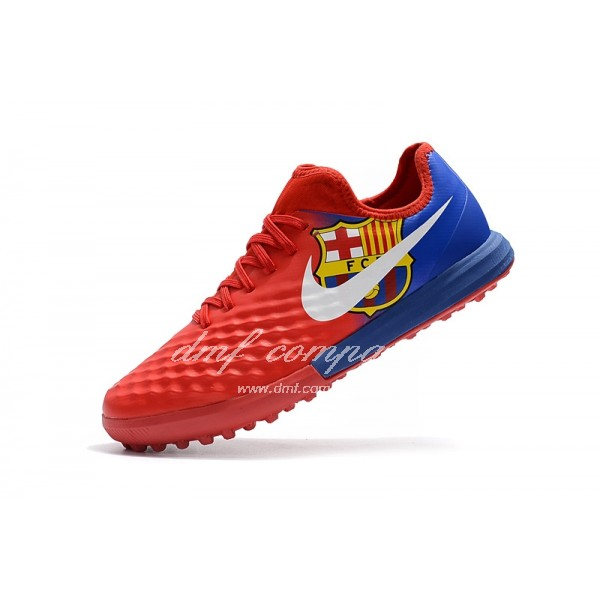 Nike MagistaX Finale II Men Red/Blue TF