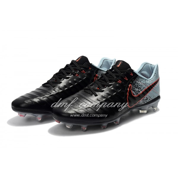 Nike Flyknit Tiempo Legend VII FG Men Black/Green