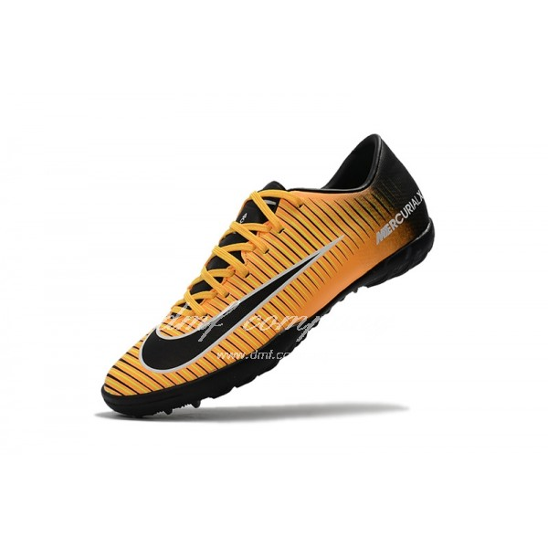 NIke Mercurical Victory VI Men/Women Yellow/Black TF