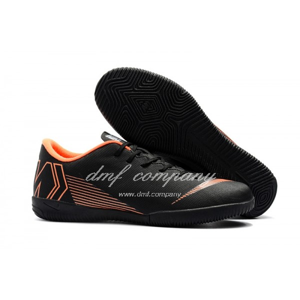 NIKE VAPORX 12CLUB Men Black/Orange IC