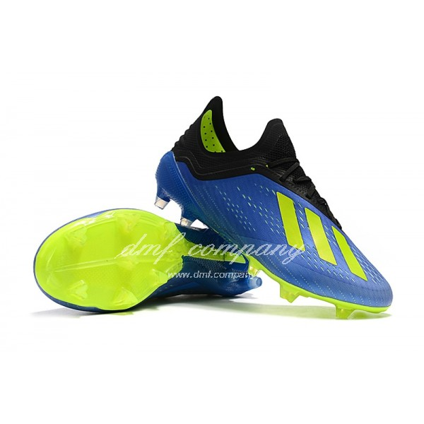Adidas X 18.1 FG Men's Blue Green And Black