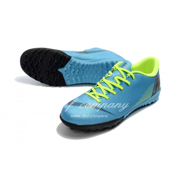NIKE VAPORX 12CLUB TF Men Blue/Fluorescent Green