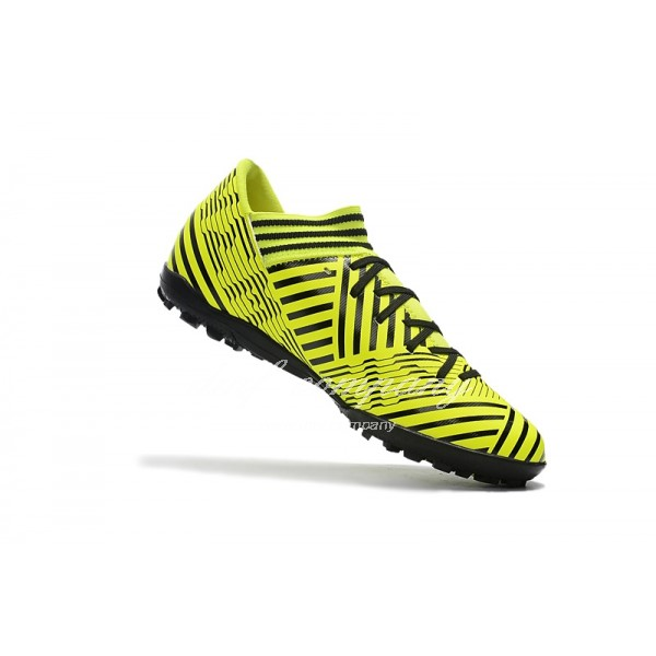 Adidas Nemeziz Tango 17.3 TF Men's Black Stripe And Yellow
