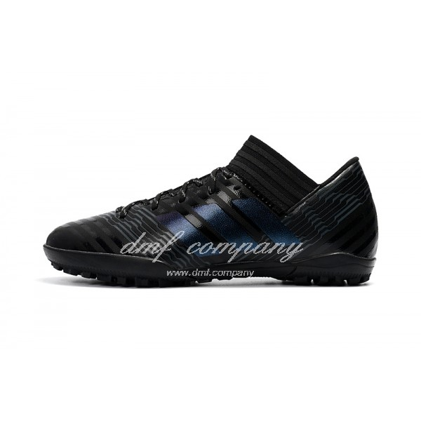 Adidas Nemeziz Tango 17.3 TF Men's Black Stripe And Black