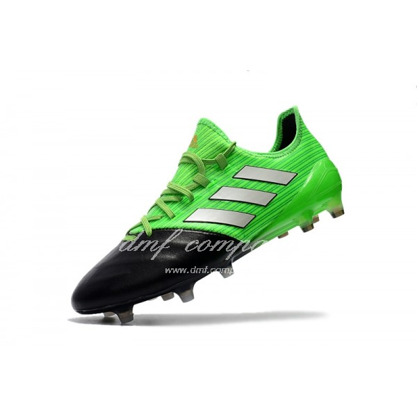 Adidas Ace 17.1 Leather FG Men's Green And Black