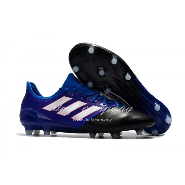 Adidas Ace 17.1 Leather FG Men's Blue Black And White