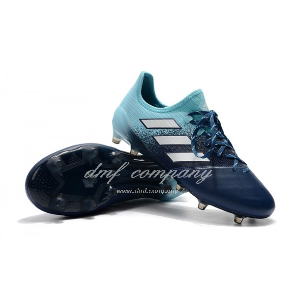 Adidas Ace 17.1 Leather FG Men's Graduated Blue