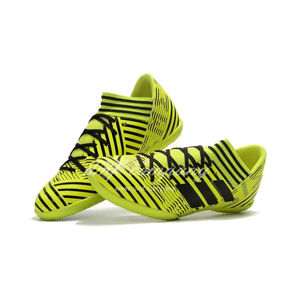 Adidas Nemeziz Tango 17.3 IC Men's Black Stripe And Green