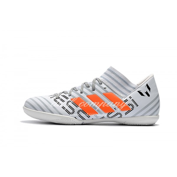 Adidas Nemeziz Tango 17.3 IC Men's Grey Stripe White And Oranage
