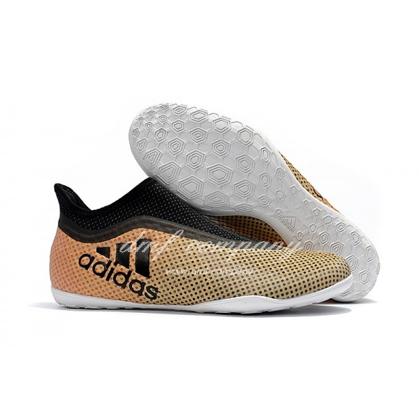 Adidas X Tango 17+Purespeed IC Men's Soil Yellow And Black