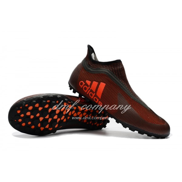 Adidas X Tango 17+Purespeed TF Black And Orange