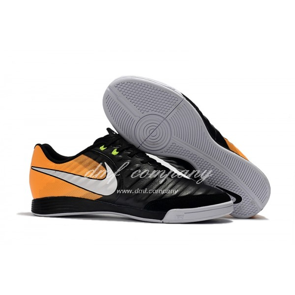 Nike Tiempo Ligera IV IC Men Black/Orange