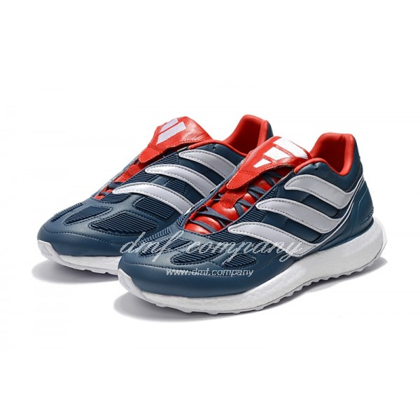 Adidas Predator Precision 2018 Ultra Boost Men Dark Blue/Red