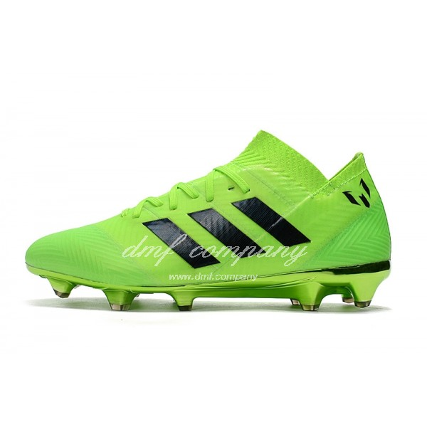 Adidas Nemeziz Messi 18.1 FG Men's Green And Black
