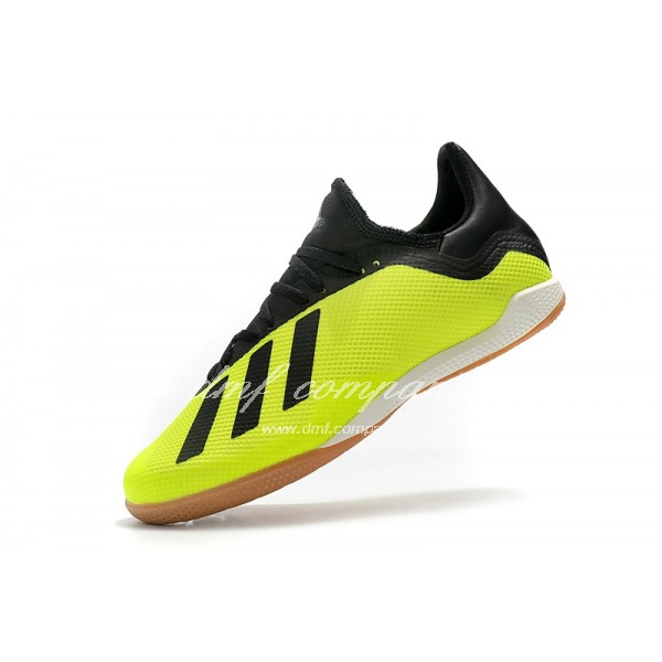 Adidas Men's X Tango 18.3 IC Fluorescent Green And Black