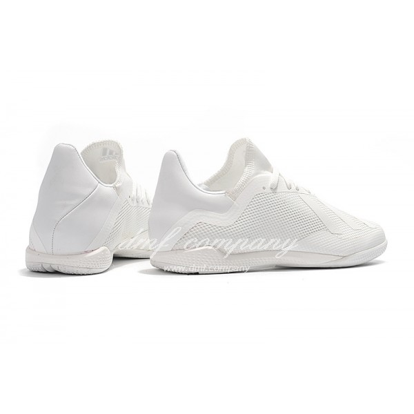 Adidas Men's X Tango 18.3 IC All White